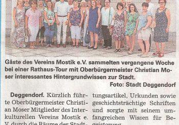 Interkultureller Verein und Oberbürgermeister
